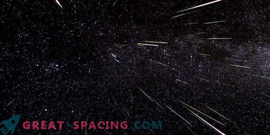 En mayo, una nueva lluvia de meteoros caerá sobre nosotros