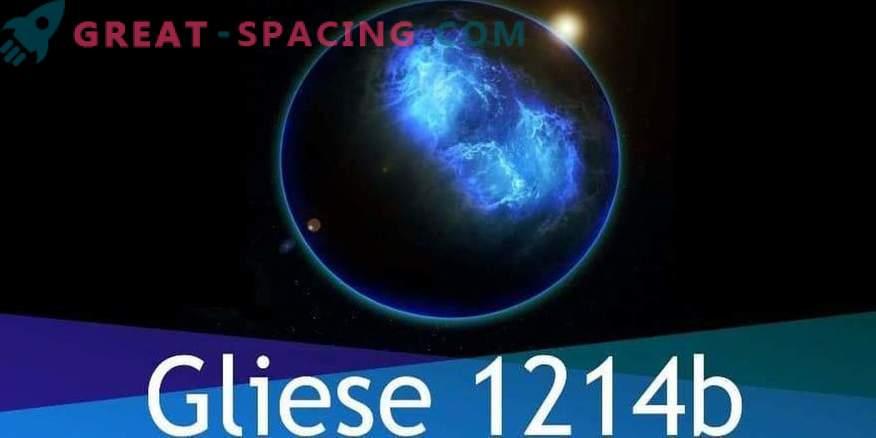 El exoplaneta de Gliese 1214b consiste completamente en agua, pero hay vida