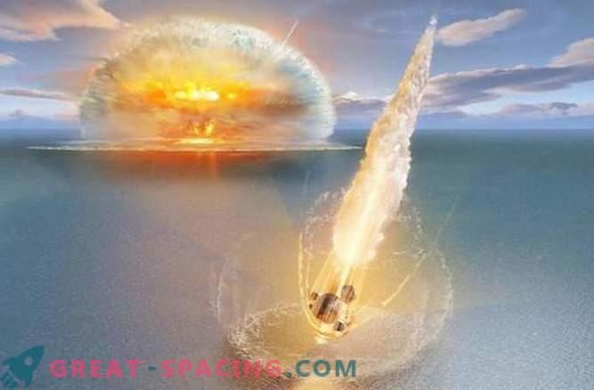 Dos meteoritos chocaron simultáneamente con la Tierra