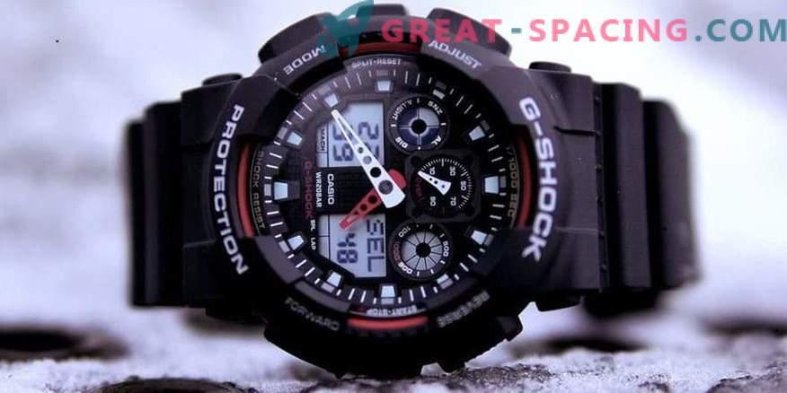 Una rica selección de relojes de marcas populares