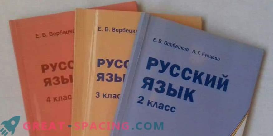 Libros de texto en ruso para el cuarto grado de autores: Buneev, Zheltovskaya