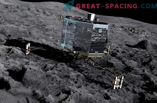 Traducción del aterrizaje del módulo Philae en la superficie del cometa Churyumov-Gerasimenko