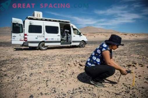 El desierto chileno está listo para buscar vida en Marte