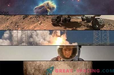 TOP-10 historias espaciales de 2015