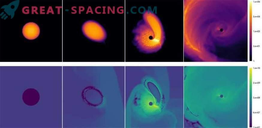 ¿Un agujero negro resucita a una enana blanca?