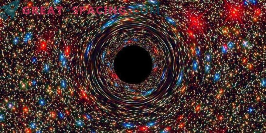 Agujeros negros ultramasivos en galaxias distantes