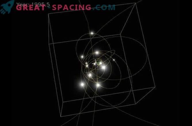 Las estrellas pueden formarse cerca de los agujeros negros