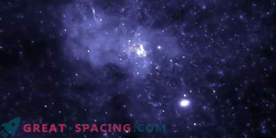 Agujero negro en el centro galáctico