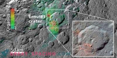 Произход на органичната материя в Ceres