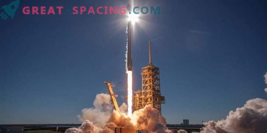 Falcon 9 se está preparando para el lanzamiento número 50