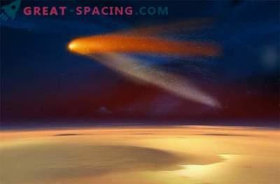 El impacto del cometa convirtió el magnetismo de Marte en un caos