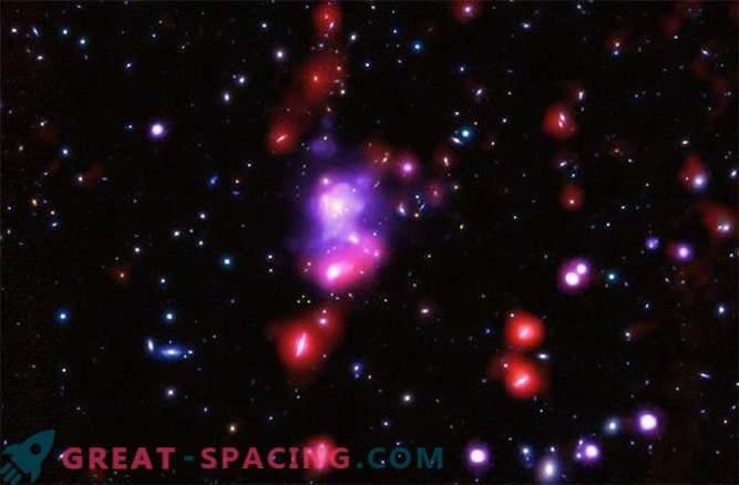 Descubrió el mayor grupo de galaxias