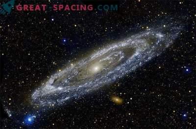 Nuestra galaxia y el halo de Andrómeda pueden estar tocando