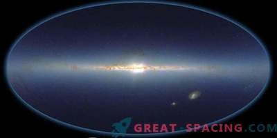 Primer estudio espectral infrarrojo de todo el cielo