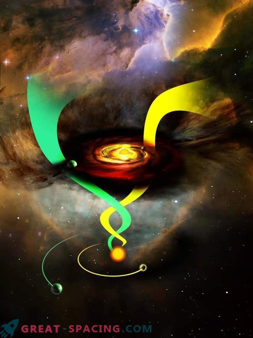 La cantidad de hierro en una estrella puede afectar la proximidad de los planetas