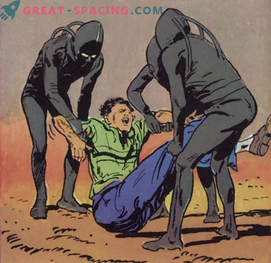 El agricultor está seguro de que seres extraterrestres lo secuestraron en 1957