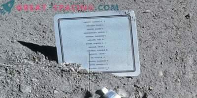 ¿Por qué dejaron un letrero en la luna con los nombres de los astronautas muertos