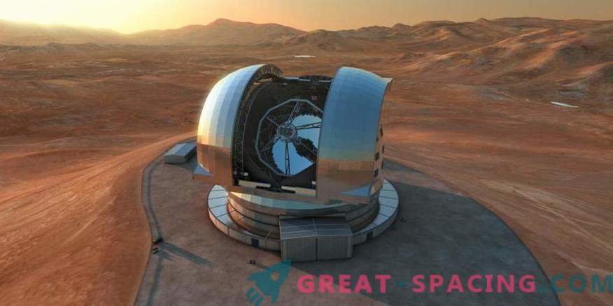 Todo comienza con un súper telescopio
