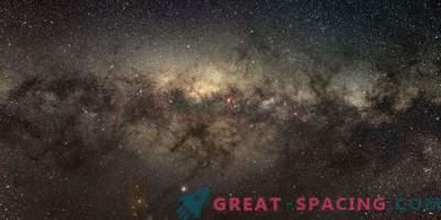El núcleo galáctico muestra un bajo nivel de nacimiento estelar