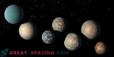 Puede haber demasiada agua en los exoplanetas TRAPPIST-1
