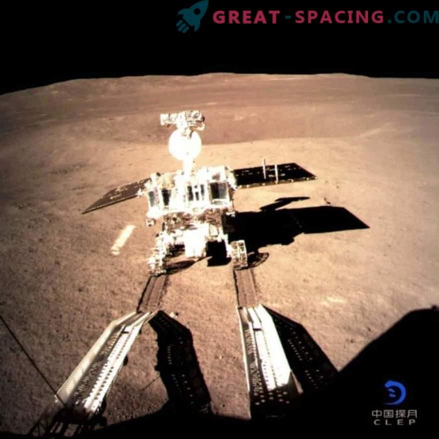 Despertar del rover lunar chino