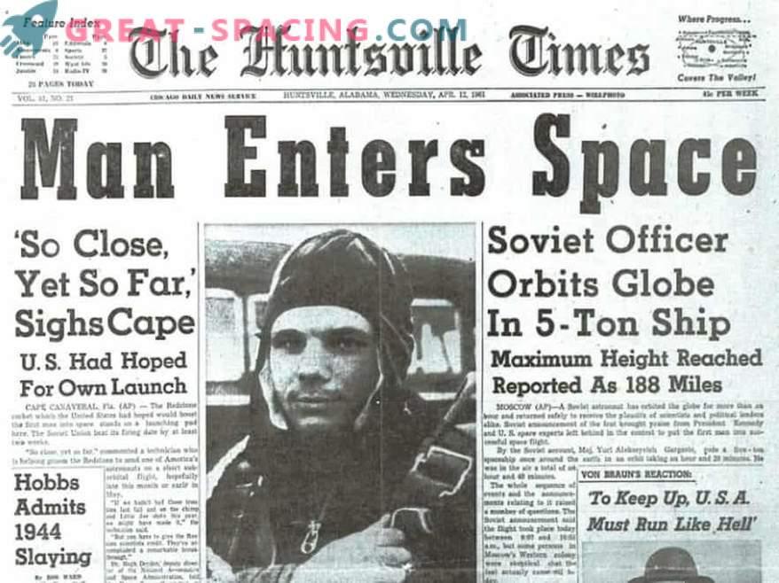 Hace 50 años murió Yury Gagarin
