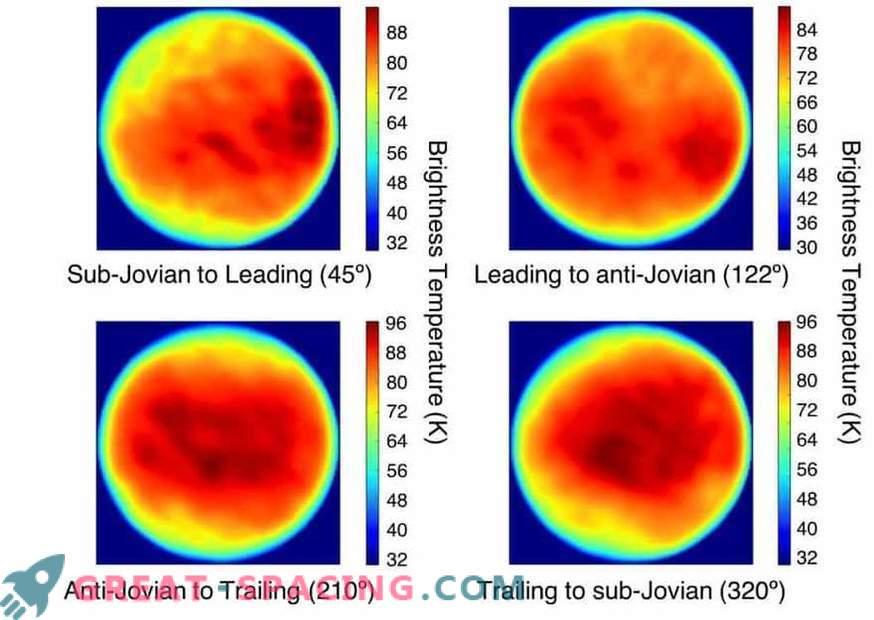 El satélite de Júpiter sorprende a los científicos con un extraño punto frío