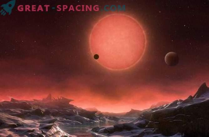 Tres planetas encontrados en las órbitas de una estrella cercana