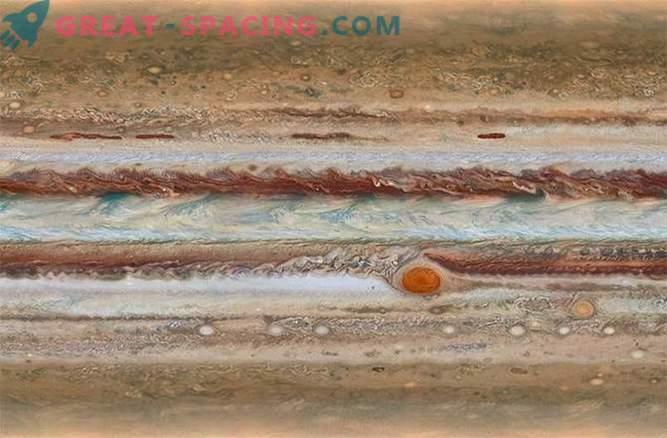 El telescopio Hubble observa a Júpiter para crear un mapa dinámico