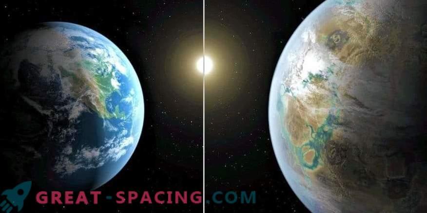 Los científicos están estudiando planetas con la posible presencia de agua
