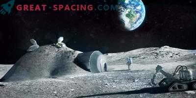 Cómo serán las colonias en la luna. Ofrecemos 3 opciones