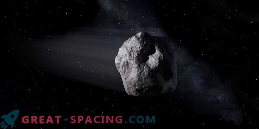 llegue el asteroide 2002 AJ129