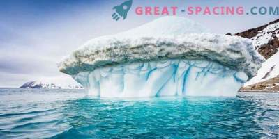 Detalles impresionantes de la Antártida en el nuevo mapa con alta resolución