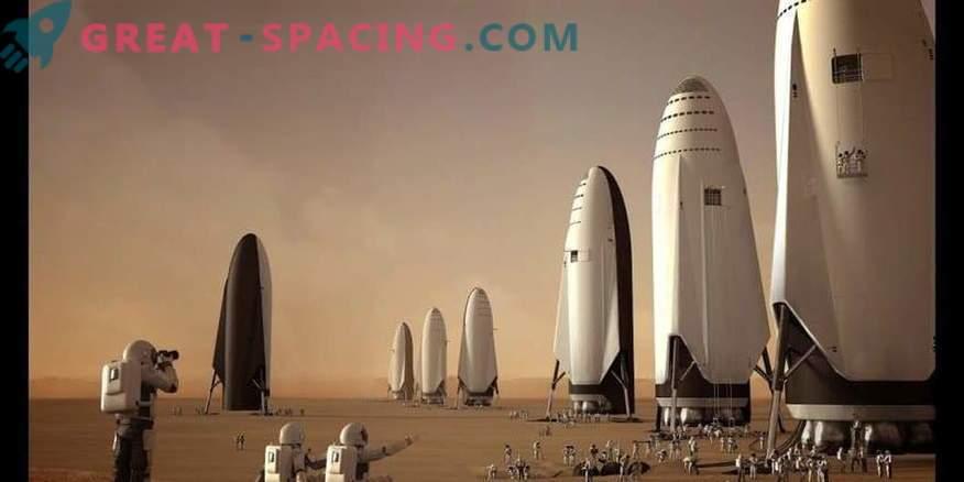 El cohete SpaceF BFR se está preparando para enviar a un pasajero en un crucero lunar