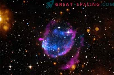 Remanente de supernova con poderosa radiación de calor