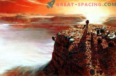 Aguas de Marte: detrás de una corriente venenosa en busca de vida extraterrestre