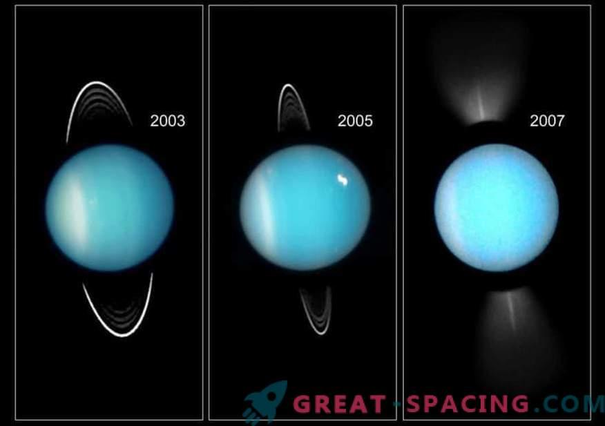 Cómo se convirtió Urano en el planeta más frío del sistema solar