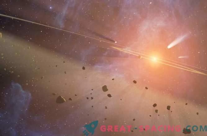 Otro cinturón de Kuiper fue descubierto alrededor de una estrella cercana.