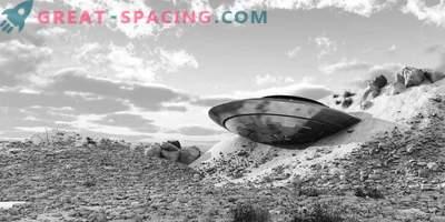 Incidente en Nuevo México - 1948. Los testigos describieron un objeto no identificado colapsado