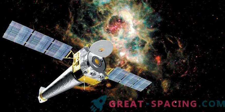 El telescopio espacial Chandra vuelve a su trabajo habitual