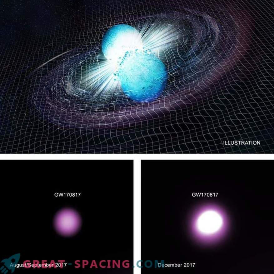 Un evento de onda gravitacional puede insinuar la formación de un agujero negro
