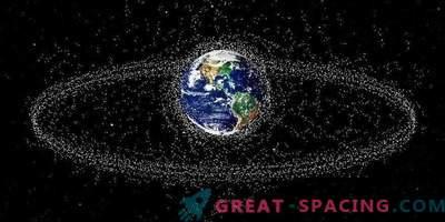 ¡La basura espacial está llegando! Nuevo mapa de objetos en órbita cercana a la tierra