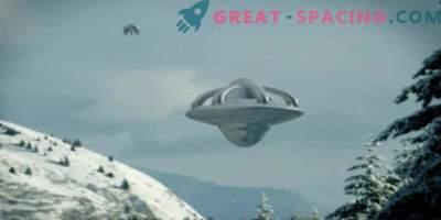Quel objet non identifié est apparu dans le ciel d'Anchorage près de la base de l'US Air Force. Vidéo