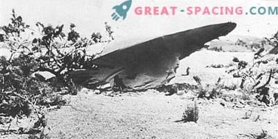 Incident v Roswellu - 1947. Ufologi so prepričani, da je vojska skrila razbitino tujske ladje