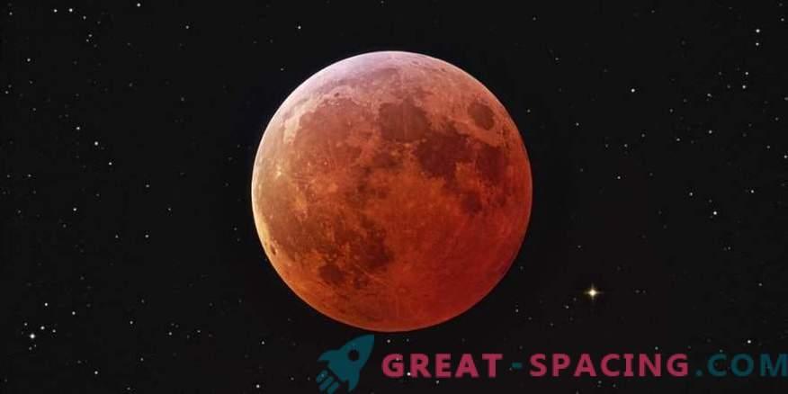 Luna azul, Súper Luna y Eclipse lunar total