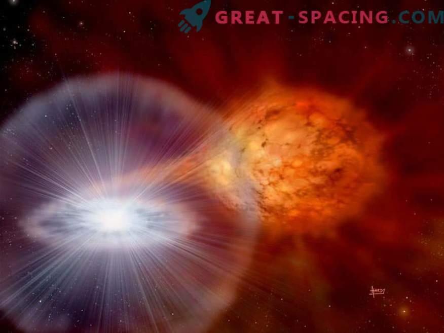 El precursor de la supernova Tycho no estaba al rojo vivo y brillante