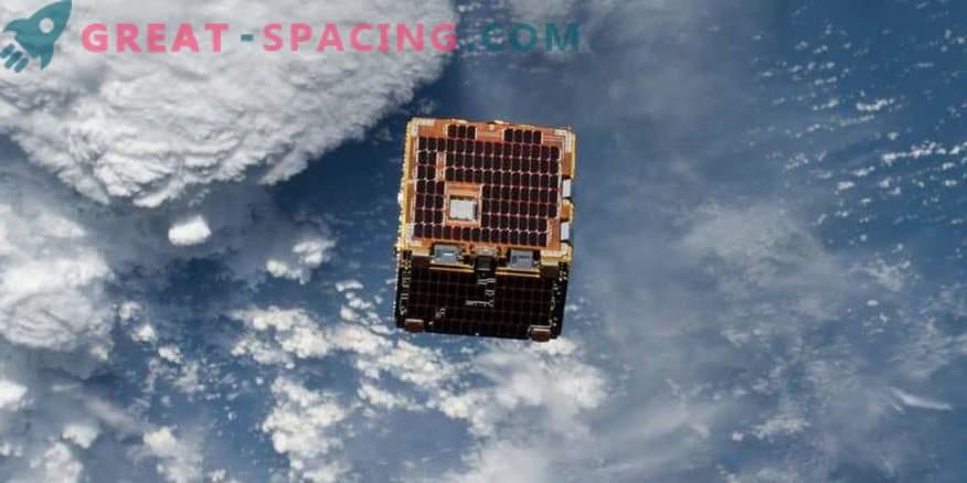 Un pequeño satélite está tratando de liberar la basura espacial