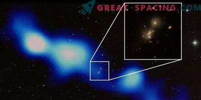 Los astrónomos indios han encontrado una radio galaxia gigante