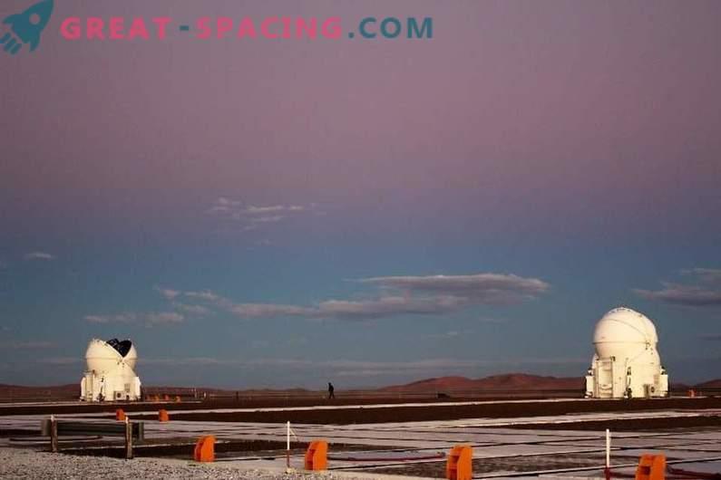 El cinturón de Venus descendió sobre el observatorio en Paranal