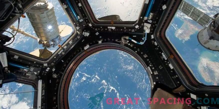 Increíble vista de la Tierra desde el espacio
